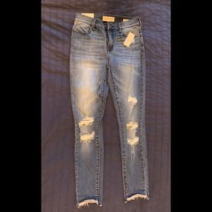 NWT PacSun high rise ankle jeggings